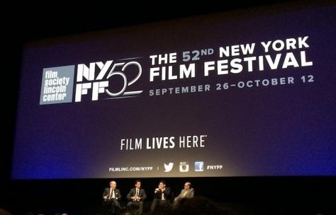 J.K. Simmons, Miles Teller and Damien Chazelle at NYFF 52 - September 2014