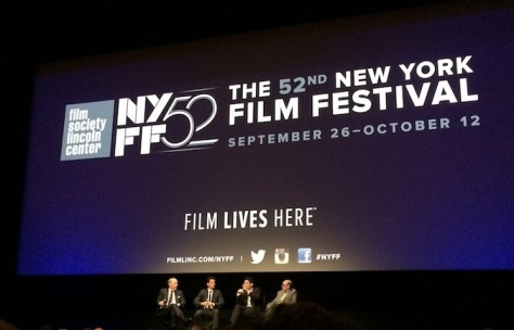 J.K. Simmons, Miles Teller and Damien Chazelle at NYFF 52 - September 2014