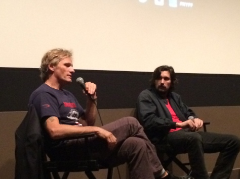Viggo Mortensen and Lisandro Alonso at NYFF 52 - October 2014