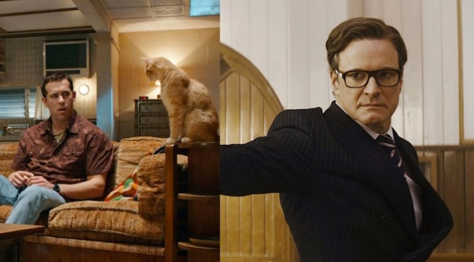 Face Off: The Voices (2014) and Kingsman: The Secret Service (2014)