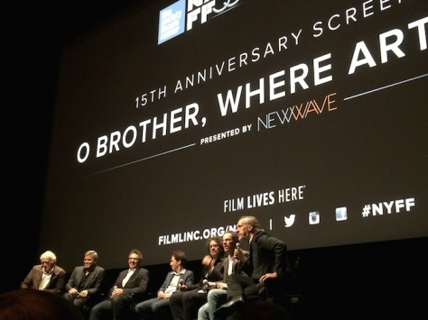 Roger Deakins, George Clooney, John Turturro, Tim Blake Nelson,and Joel and Ethan Coen at NYFF53